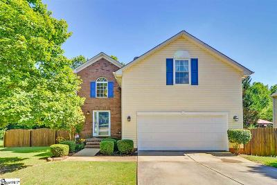 Mauldin Single Family Home For Sale: 301 Poplar Springs