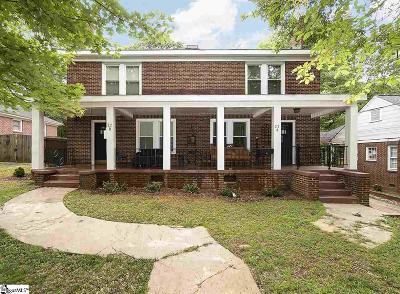 Greenville Single Family Home For Sale: 22 Jones