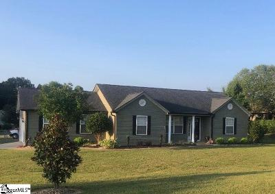 Greer Single Family Home For Sale: 3865 Camp
