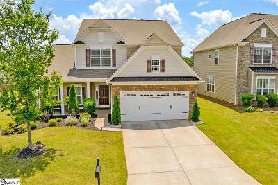 Simpsonville Single Family Home For Sale: 427 Riverdale