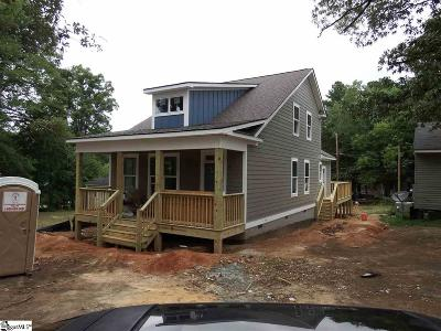 Greenville SC Single Family Home For Sale: $339,900