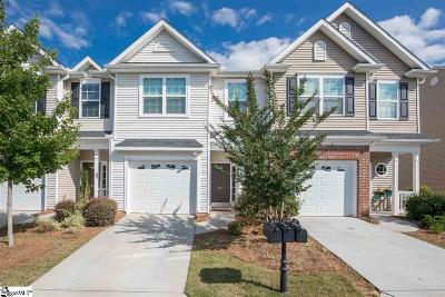 Simpsonville Condo/Townhouse For Sale: 207 Shady Grove