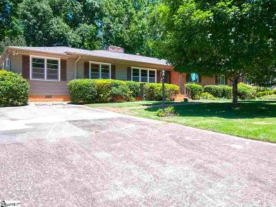 Greenville Single Family Home For Sale: 5 Alpine