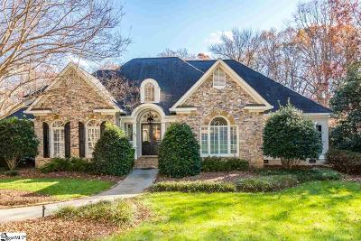 Greenville SC Single Family Home For Sale: $799,900