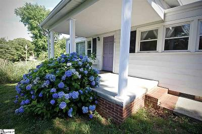 Greenville SC Single Family Home For Sale: $118,000