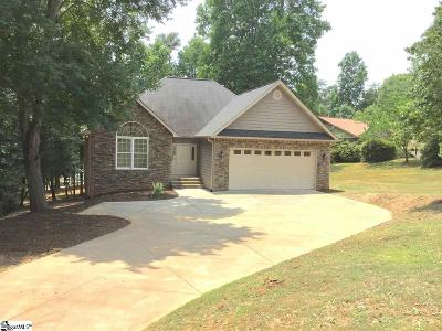Anderson Single Family Home For Sale: 214 Trail End