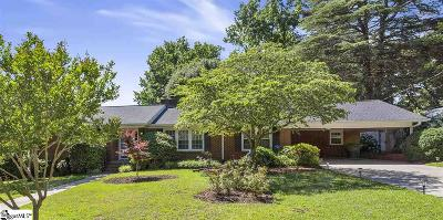 Greenville Single Family Home For Sale: 2 Richbourg