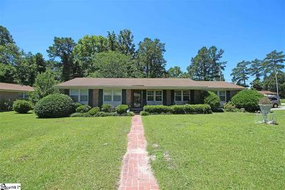 Single Family Home For Sale: 2901 Woodway