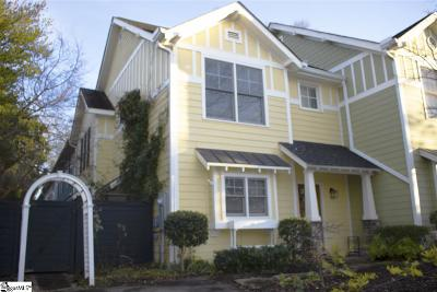 Greenville County Condo/Townhouse For Sale: 4 Cureton