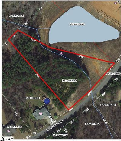 Taylors Residential Lots & Land For Sale: 24 Packforest