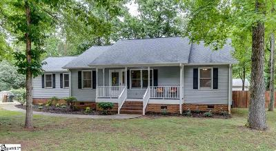 Simpsonville Single Family Home For Sale: 303 Dalewood