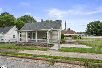 Greenville Single Family Home For Sale: 6 Taylor