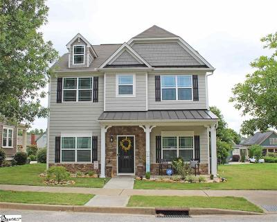 Simpsonville Single Family Home For Sale: 123 Carruth