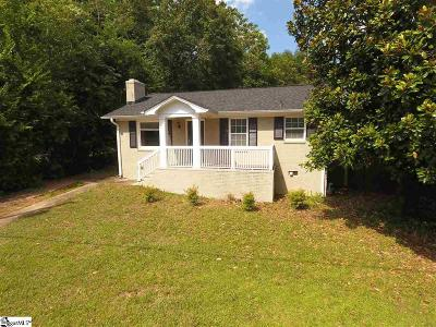 Greenville Single Family Home Contingency Contract: 121 Maco