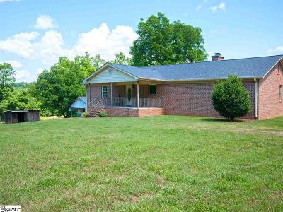 Taylors Single Family Home For Sale: 1359 Camp Creek