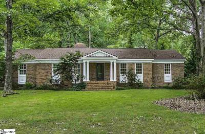 Fountain Inn Single Family Home Contingency Contract: 204 Woodvale