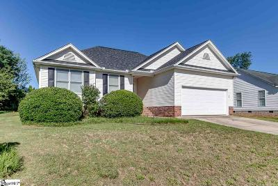 Fountain Inn Single Family Home Contingency Contract: 23 Fortson