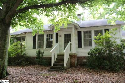 Travelers Rest Single Family Home For Sale: 2301 N 25