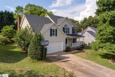 Greenville Single Family Home For Sale: 205 Woodington