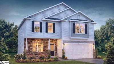 Simpsonville Single Family Home For Sale: 1121 Downing Bluff