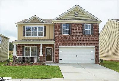 Simpsonville Single Family Home For Sale: 1122 Downing Bluff