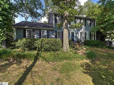 Taylors Single Family Home For Sale: 2 Foxwood