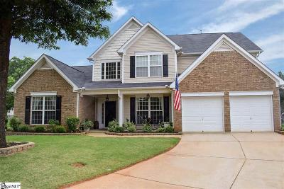 Greenville Single Family Home Contingency Contract: 7 Creek Arbor