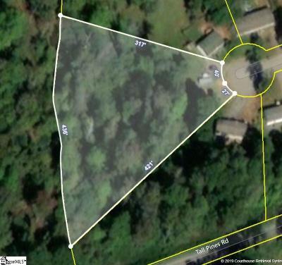Fountain Inn Residential Lots & Land For Sale: 20 Barnhart