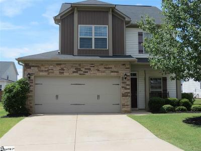 Simpsonville Single Family Home For Sale: 313 Rivers Edge