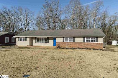 Mauldin Single Family Home For Sale: 125 Montclair