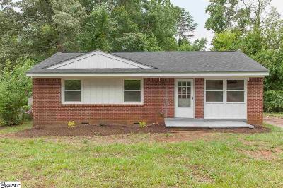 Spartanburg Single Family Home For Sale: 270 Pioneer