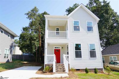 Greenville Single Family Home Contingency Contract: 7 Lincoln