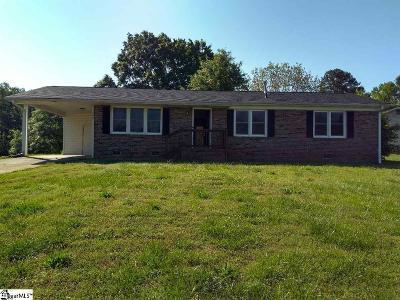 Mauldin Single Family Home For Sale: 306 Miller