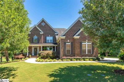 Simpsonville Single Family Home For Sale: 105 Grenadier