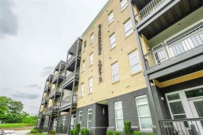 Greenville County Condo/Townhouse For Sale: 20 Overbrook #Unit 309