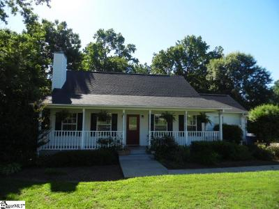 Greenville County Single Family Home For Sale: 76 Montague