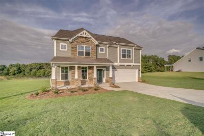 Inman Single Family Home For Sale: 307 Swift Water #Lot 4