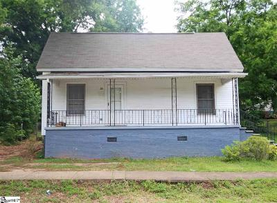 Greenville SC Single Family Home Contingency Contract: $65,000