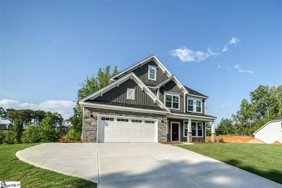 Inman Single Family Home For Sale: 548 Deep Water #Lot 31