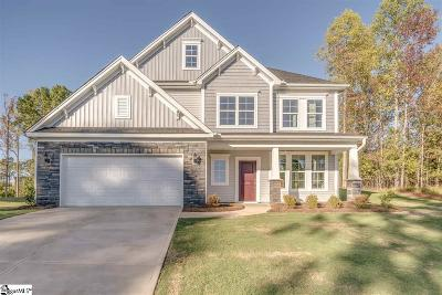 Inman Single Family Home For Sale: 544 Deep Water #Lot 32