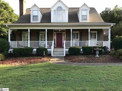 Inman Single Family Home For Sale: 218 Burntwood