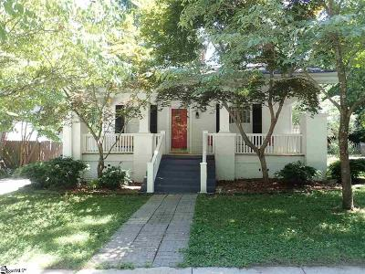 Greenville SC Single Family Home Contingency Contract: $323,500
