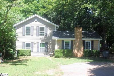 Greenville Single Family Home Contingency Contract: 110 W Decatur