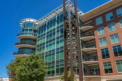 Greenville Condo/Townhouse For Sale: 201 Riverplace #807