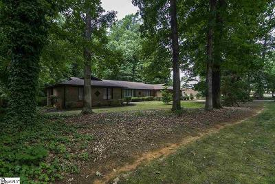 Greenville Single Family Home For Sale: 14 Red Fox