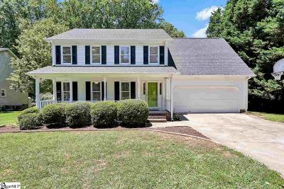 Greenville SC Single Family Home For Sale: $240,000