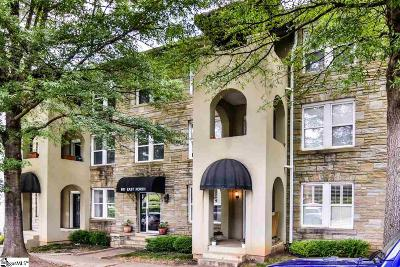 Greenville SC Condo/Townhouse For Sale: $205,000