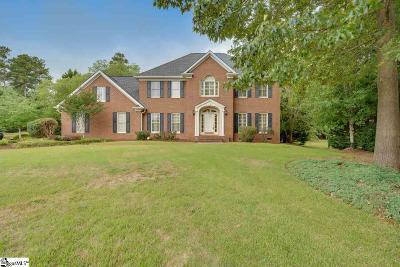 Spartanburg Single Family Home For Sale: 862 Oakcrest