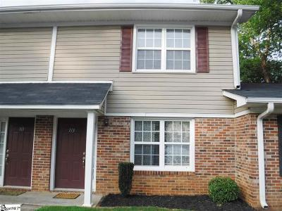 Simpsonville Condo/Townhouse For Sale: 113 Silver Brook