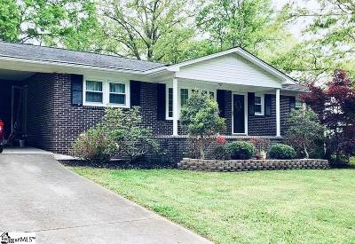 Greenville Single Family Home Contingency Contract: 5 Larkspur
